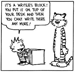 Calvin & Hobbes @Bill Watterson