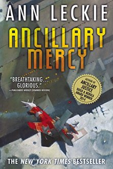 Ann Leckie's Ancillary Mercy, book 3 in the Imperial Radch series.